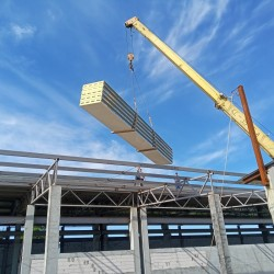 construction of vegetable storages  cold chambers  rgs  installation of sandwich panels