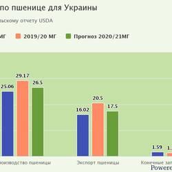 Forecast of final wheat stocks in Ukraine increased - USDA