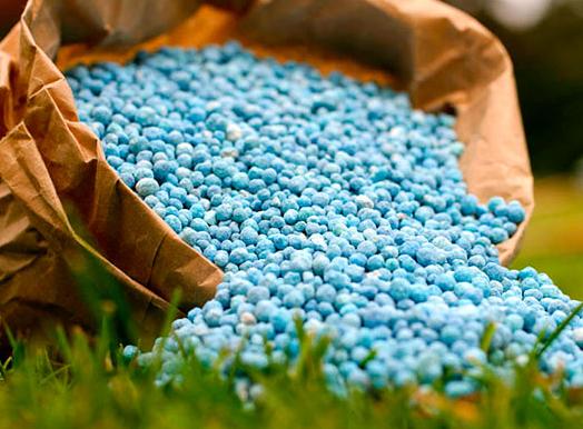 Імпорт азотних добрив в Україні знижується