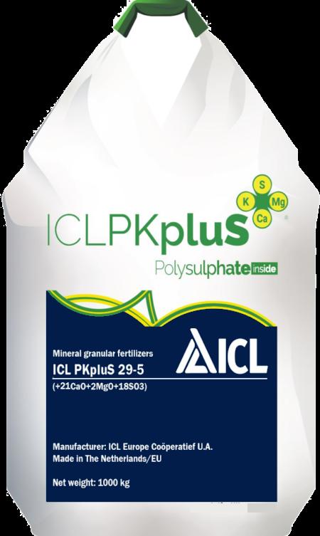 Гранулированное удобрение ICL PKpluS 29-5(2MgO+21CaO+18SO3)